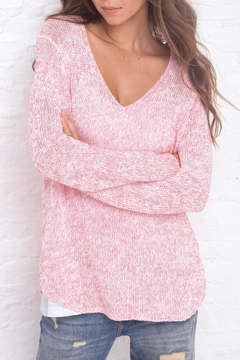 Wooden Ships Marled Tunic Sweater - Alternate List Image