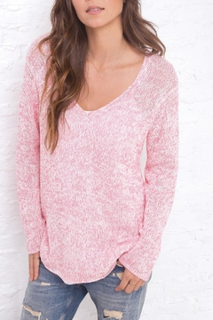 Wooden Ships Marled Tunic Sweater - Product List Image
