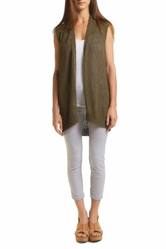 Wooden Ships Megan Cotton Vest - Product List Image