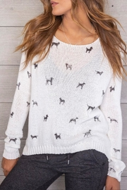 Wooden Ships Mini Dogs Pullover - Front full body