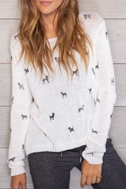 Wooden Ships Mini Dogs Pullover - Front cropped