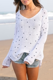 Wooden Ships Mini Stars Sweater - Product Mini Image