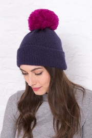 Wooden Ships Montreal Pompom Hat - Front full body