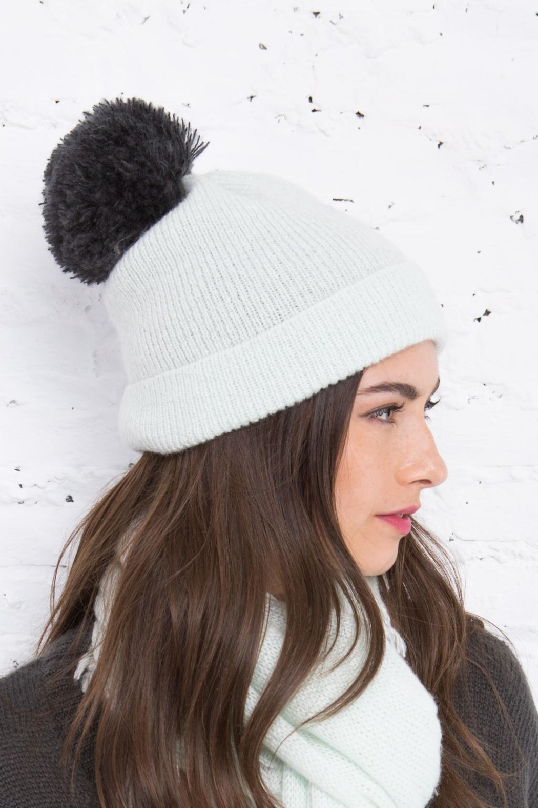 Wooden Ships Montreal Pompom Hat - Front Full Image