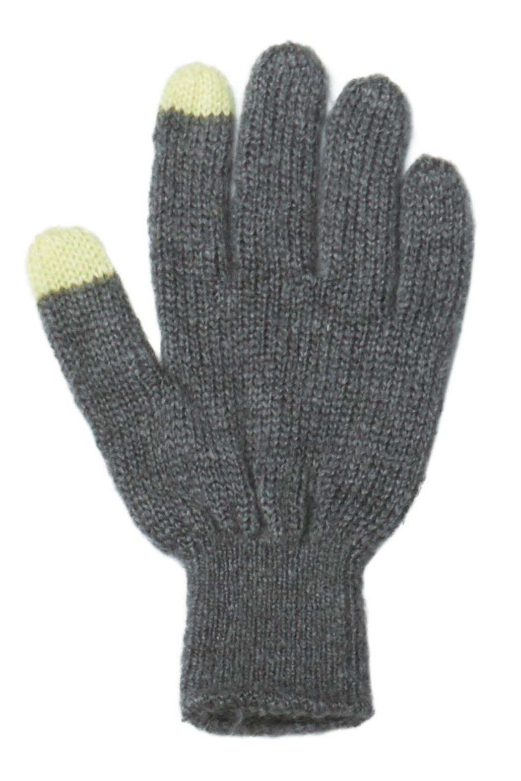 Wooden Ships Montreal Texting Gloves - Front Cropped Image
