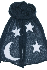 Wooden Ships Moon & Stars Scarf - Front full body