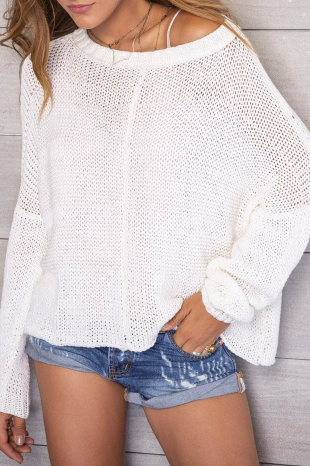 Wooden Ships Morgan Sweater - Front Full Image
