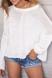 Wooden Ships Morgan Sweater - Front full body