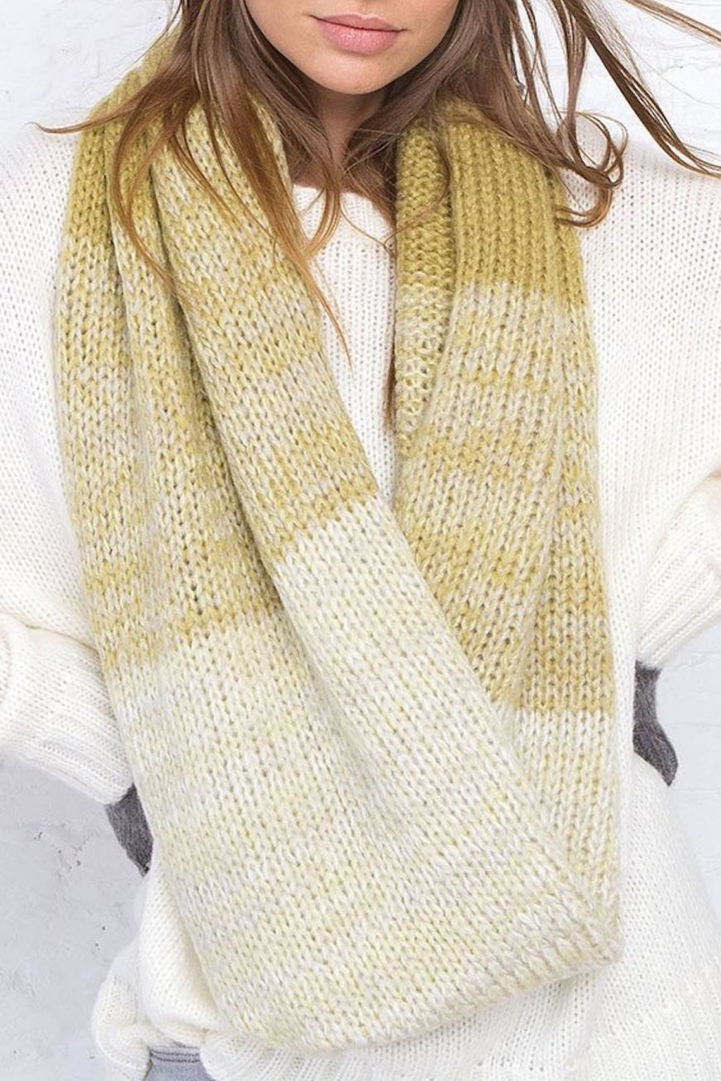 Wooden Ships Ombre Eternity Scarf - Main Image