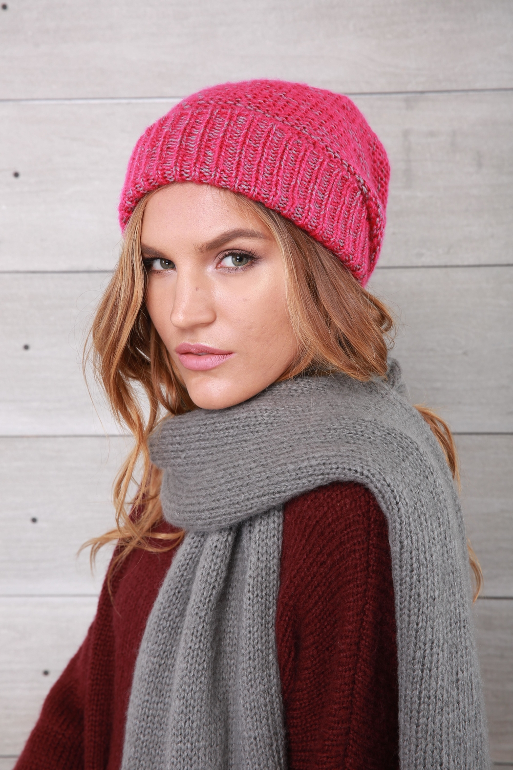 Wooden Ships Pink Rosemary Beanie - Main Image