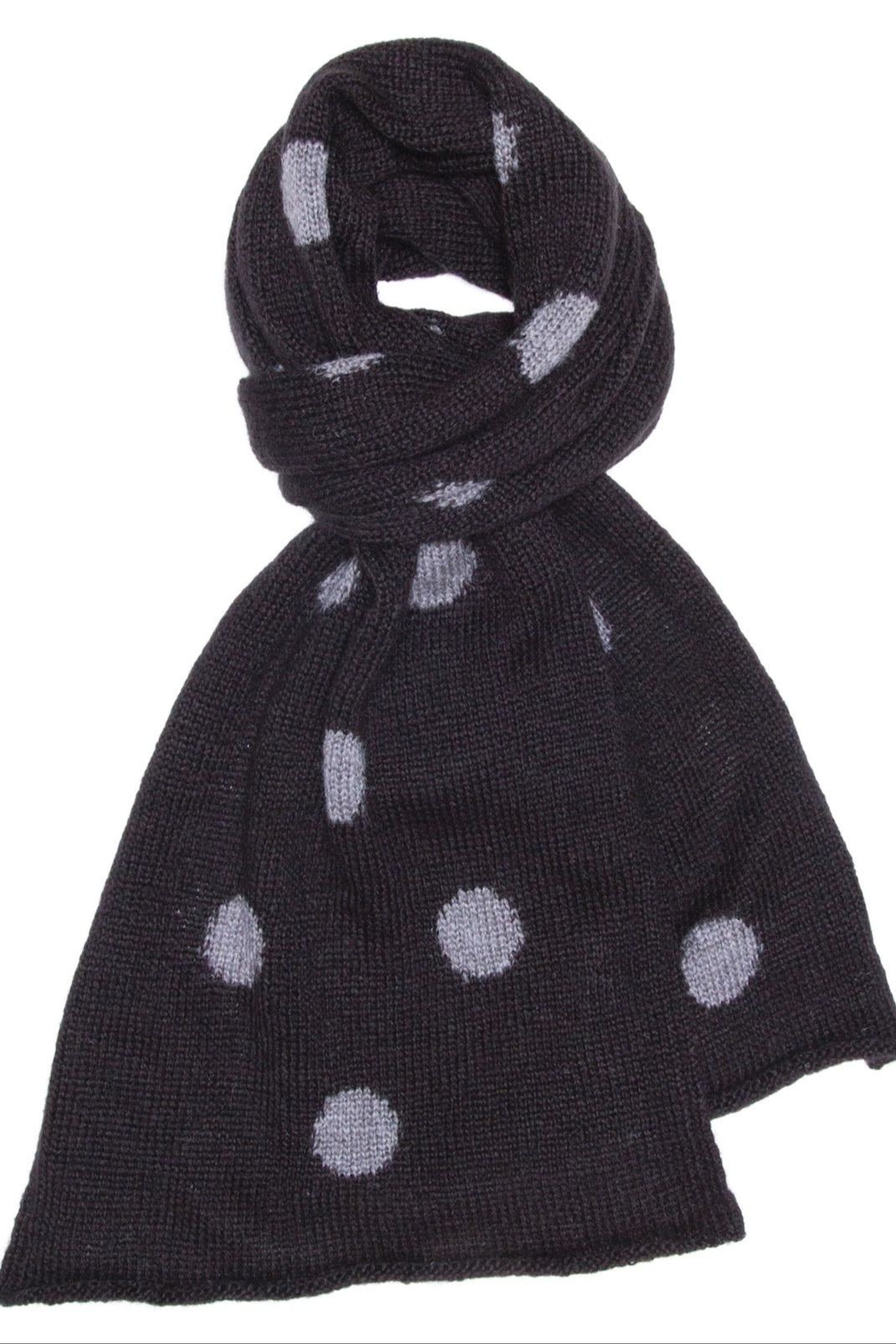 Wooden Ships Polka Dot Scarf - Side Cropped Image