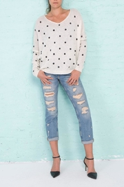 Wooden Ships Polka Dot Sweater - Product Mini Image