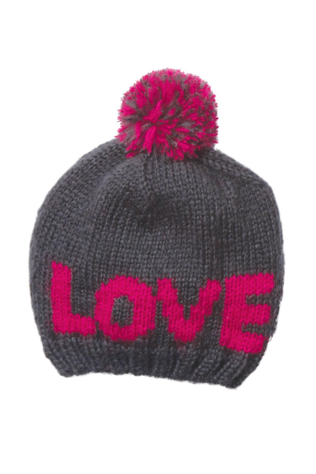 Wooden Ships Pom Pom Beanie - Front Cropped Image