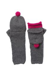 Wooden Ships Pom Pom Capped Mitten - Front cropped