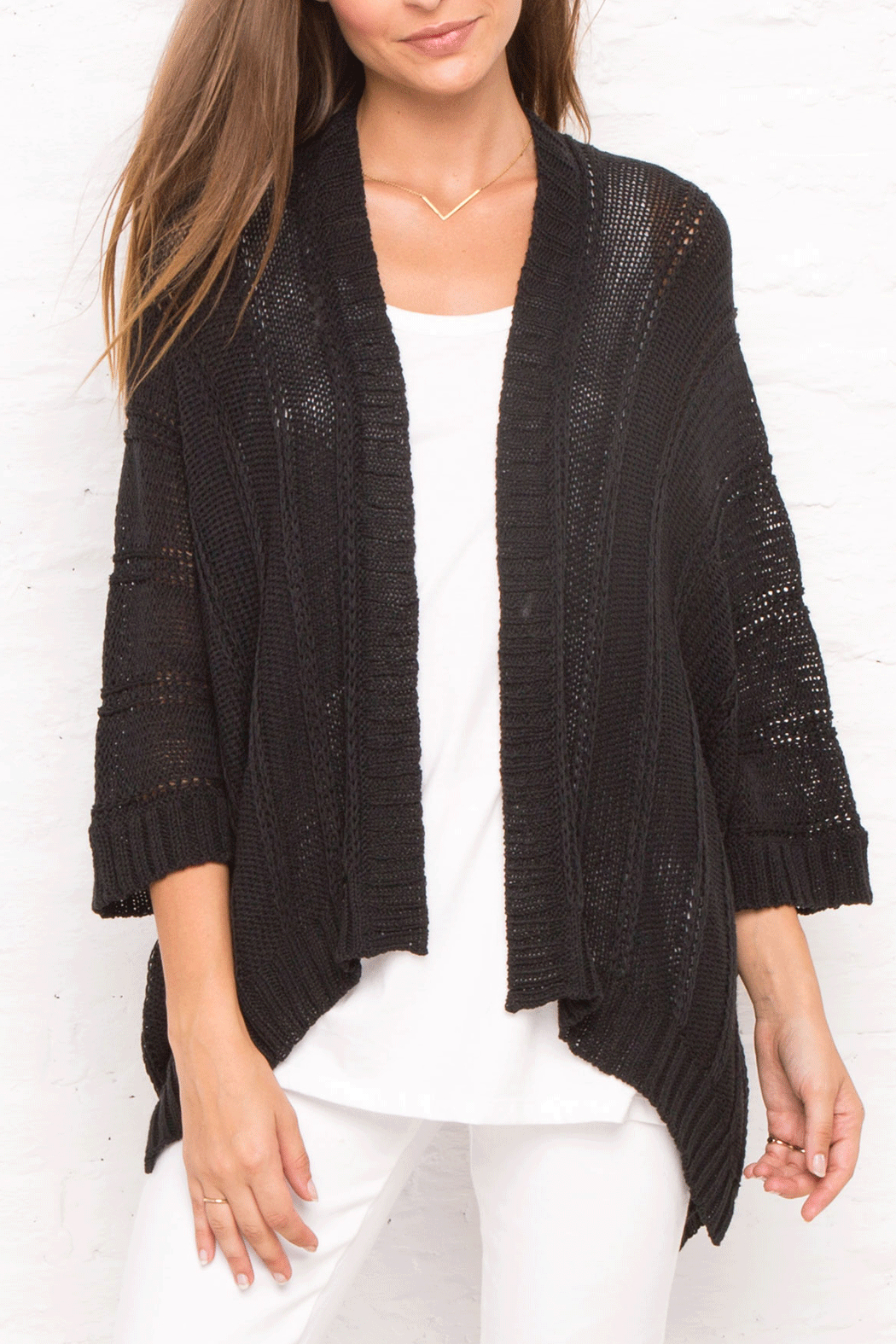 Wooden Ships Rib Kimono Cardigan from Iowa by Weathered Elements ...