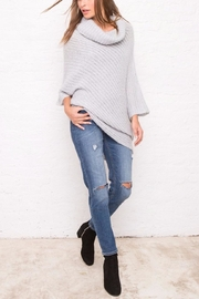 Wooden Ships Ribbed Asymmetrical Top - Side cropped