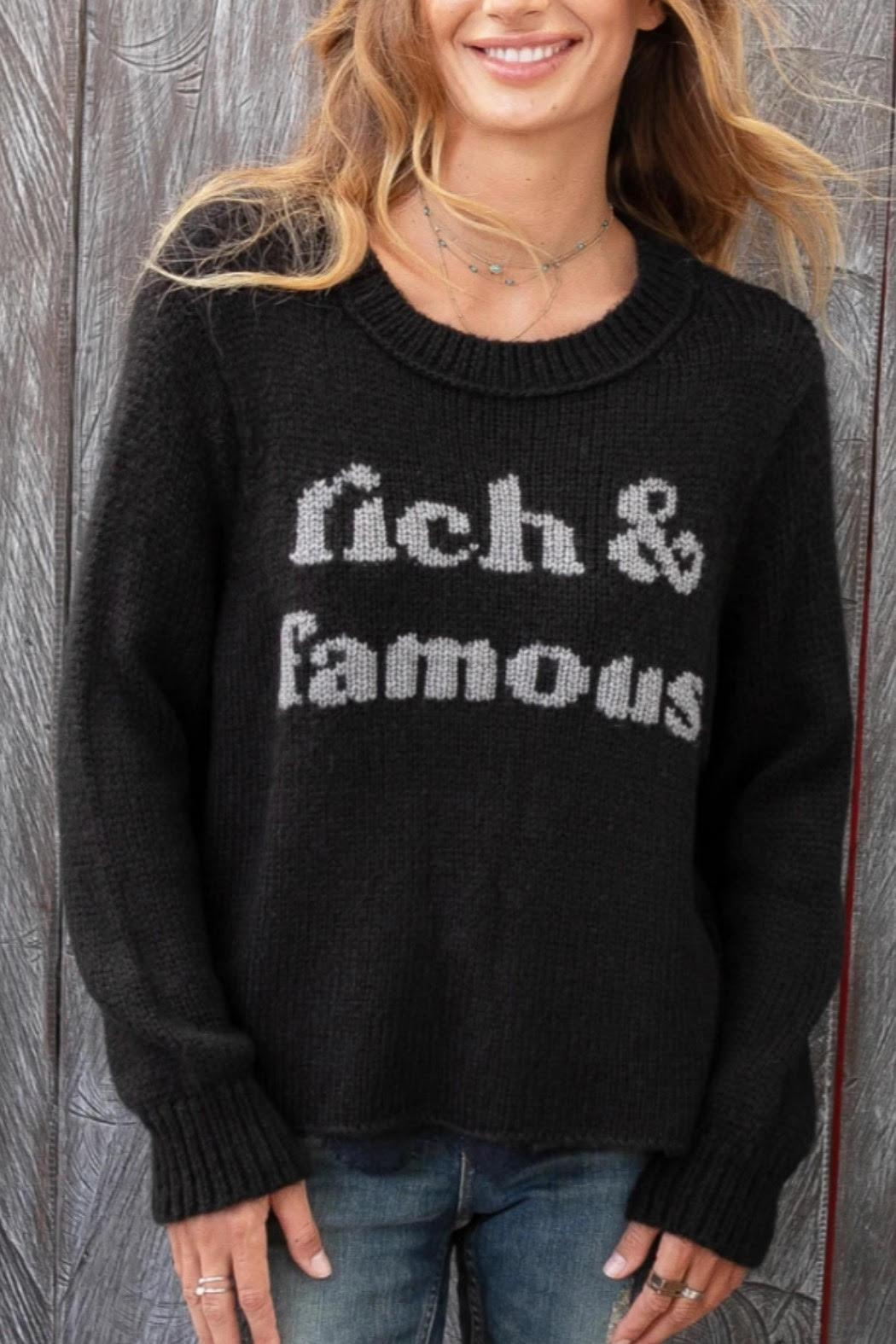 Wooden Ships Rich & Famous Sweater - Main Image