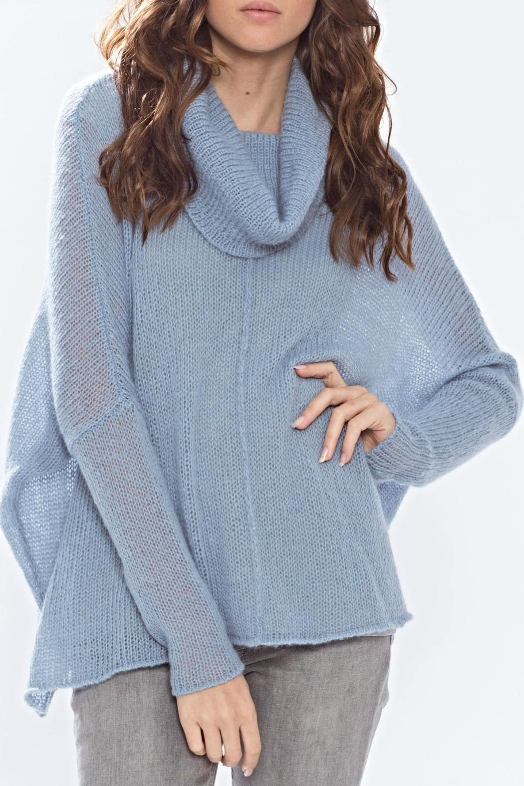 Wooden Ships Seamed Cowl Pullover - Front Cropped Image