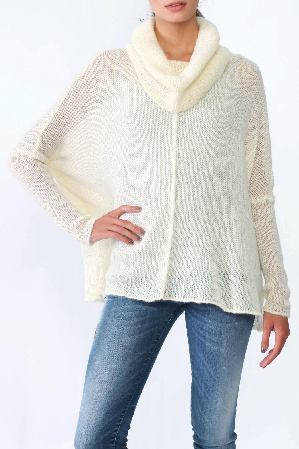 Wooden Ships Seamed Cowl Pullover - Main Image
