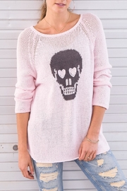 Wooden Ships Skull Cotton Raglan - Product Mini Image