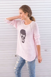 Wooden Ships Skull Raglan - Side cropped