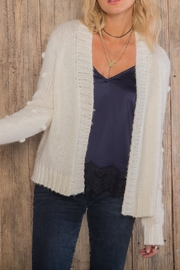 Wooden Ships Snowball Cardi - Front full body