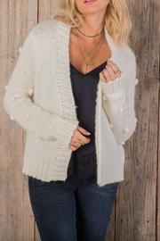 Wooden Ships Snowball Cardi - Front cropped