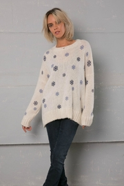 Wooden Ships Snowflake Crew Sweater - Product Mini Image