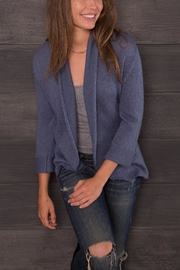 Wooden Ships Solid Cuffed Blazer - Front full body