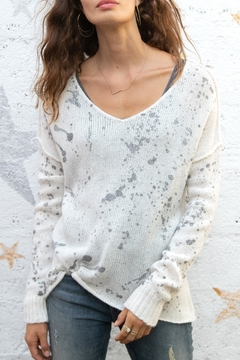 Wooden Ships Splatter Sweater - Product List Image