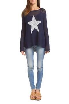 Wooden Ships Star Crew Sweater - Alternate List Image