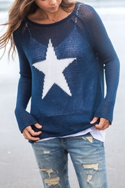 Wooden Ships Star Crewneck - Product Mini Image