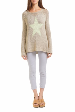 Wooden Ships Star Sweater - Product List Image
