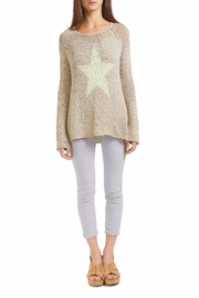 Wooden Ships Star Sweater - Front cropped