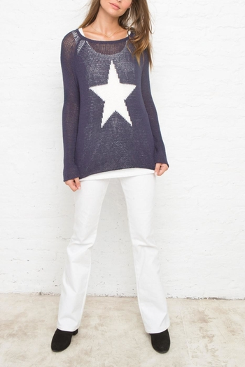 Wooden Ships Star Sweater - Main Image
