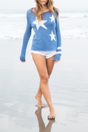 Wooden Ships Stars + Stripes Sweater - Front cropped