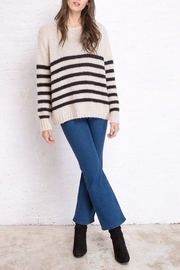 Wooden Ships Emerson Stripe Sweater - Product Mini Image