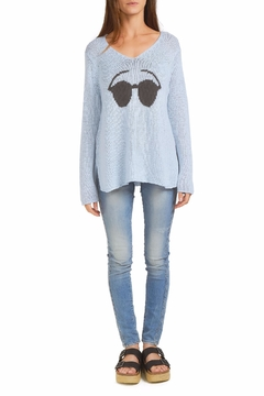 Shoptiques Product: Sunnies V-Neck Sweater