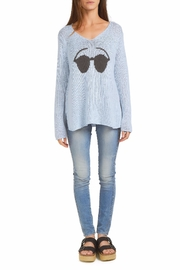 Wooden Ships Sunnies V-Neck Sweater - Product Mini Image