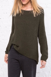 Wooden Ships Winslett Raglan Sweater - Front full body