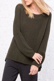 Wooden Ships Winslett Raglan Sweater - Product Mini Image