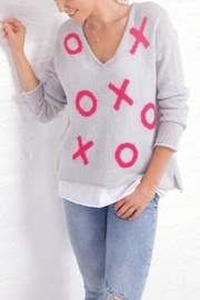 Wooden Ships Xoxo V Sweater - Product Mini Image