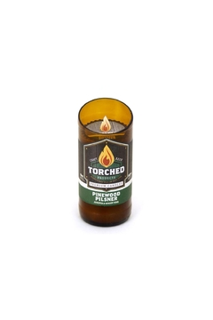 Shoptiques Product: Beer-Bottle Candle-Pinewood Pilsner