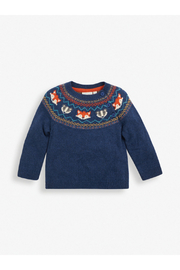 JoJo Maman Bebe Woodland Fair Isle Sweater - Product Mini Image