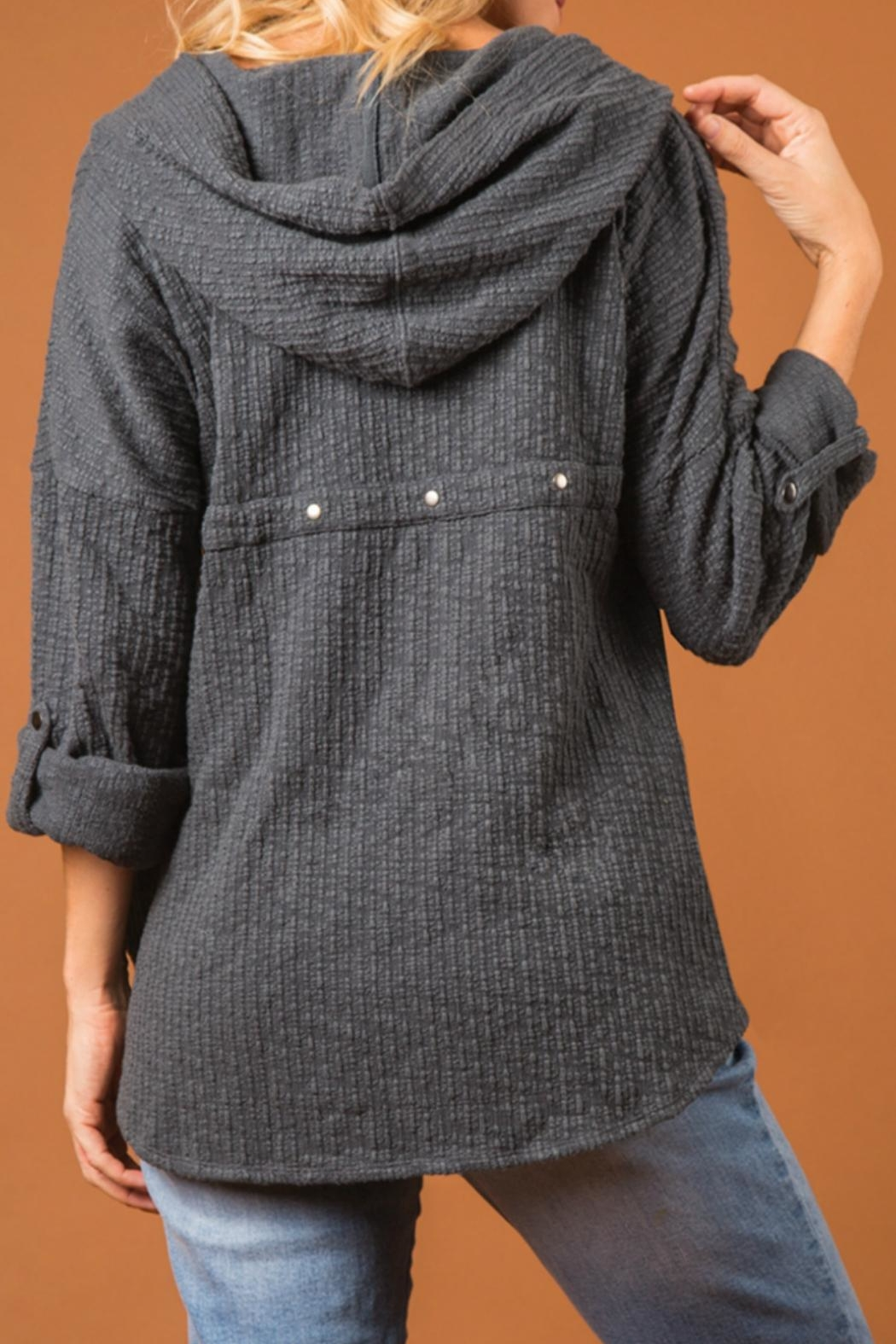 Simply Noelle Woodland Hooded Top - Front Full Image
