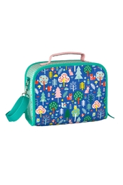 Petit Collage Woodland Lunch Box - Front cropped
