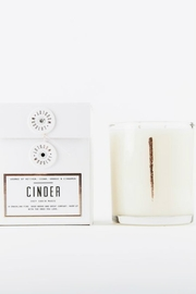 Woodlot Cinder Candle - Front full body