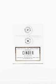Woodlot Cinder Candle - Front cropped