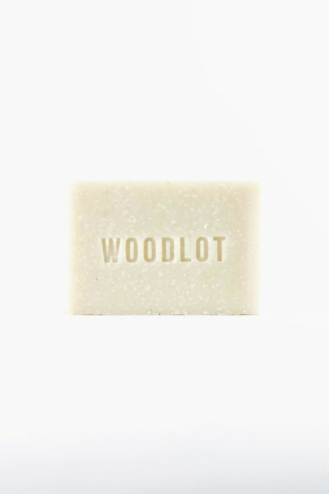 Woodlot Cinder Soap Bar - Front Full Image