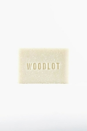 Woodlot Cinder Soap Bar - Front full body